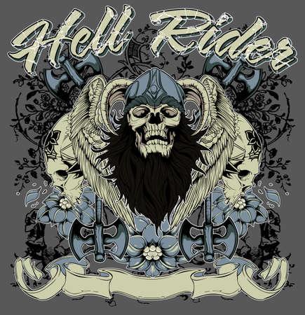 Hell rider  Illustration