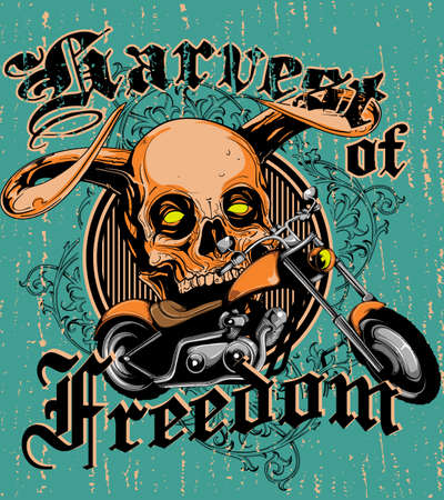 Harvest of freedom Vector
