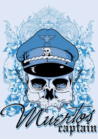 Muertos captain Illustration