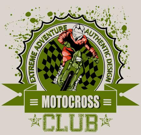 Motocross club  Vector