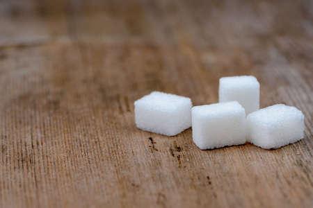 sweetener: Sugar cubes Stock Photo