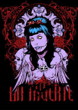 La muerte art Illustration