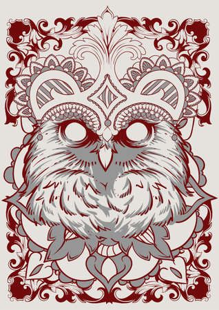 nocturnal animal: The Owl King art