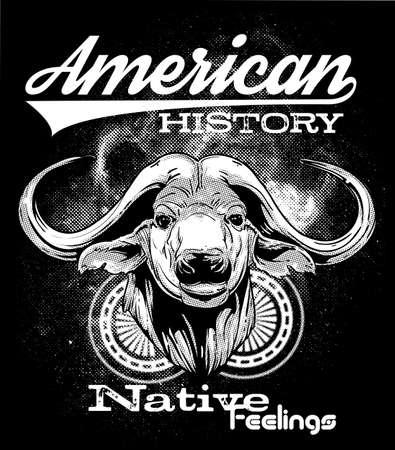 haida indian: American history Illustration