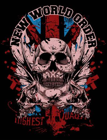 New world order Illustration