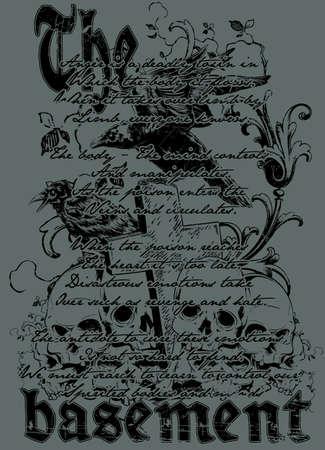 The basement Illustration