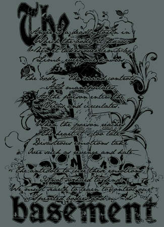 death valley: The basement Illustration