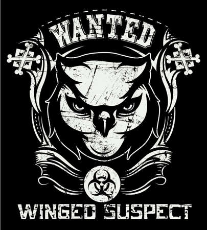 Winged suspect