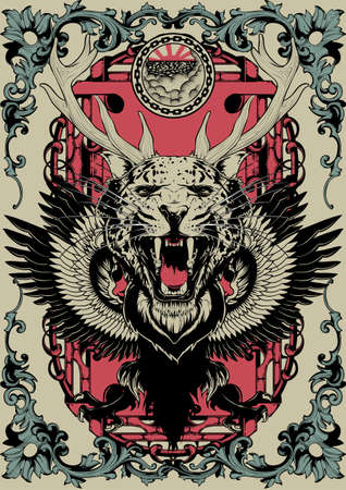 Animal mix Illustration