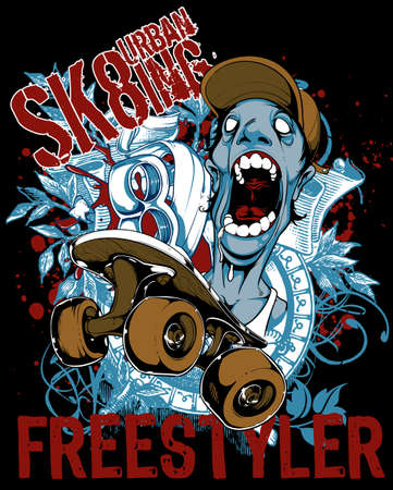 skateboard park: Freestyler