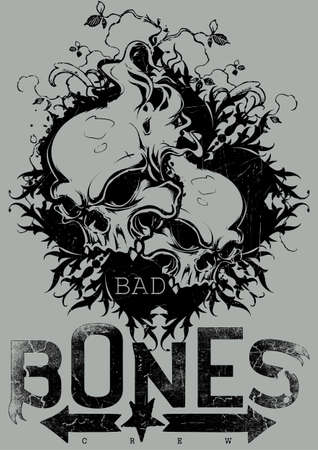 Bad bones crew Illustration