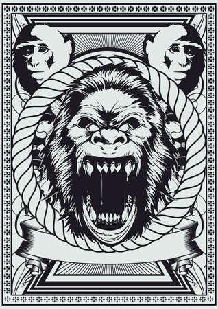 monkey suit: Royal monkey