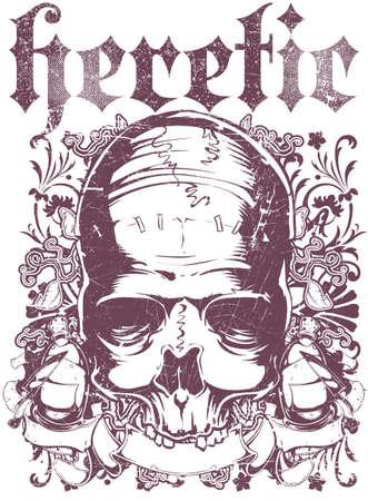 tatouage ange: Hérétique Illustration