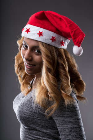 Christmas is going to be very interesting says this afro-american very cool girl