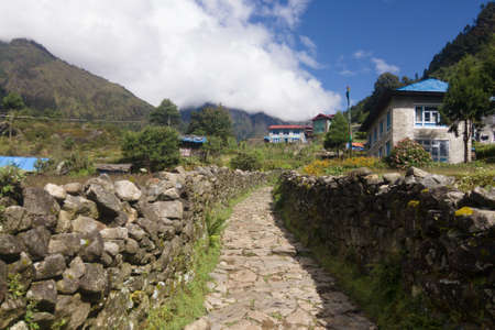 Chheplung, a small village on the Everest Base Camp trek, Nepal
