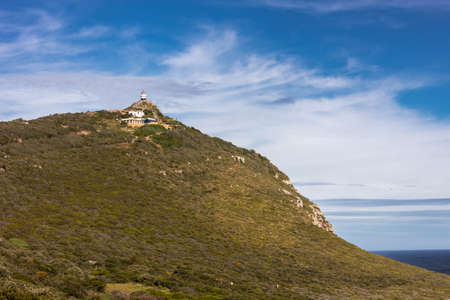 Panoramic view of the Cape of Good Hope near Cape Town, South africa