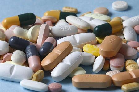 medico: pillole Stock Photo