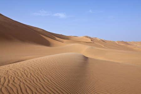Libya,Sahara desert,the Ubari dunes area Stock Photo