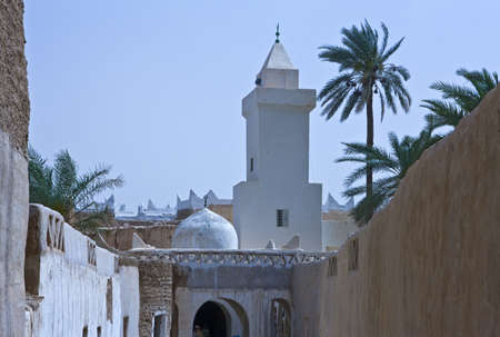 medina: Libya,Ghadames,a mosque in the old Medina