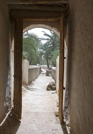 リビア、ガダミス、古いメディナ...
