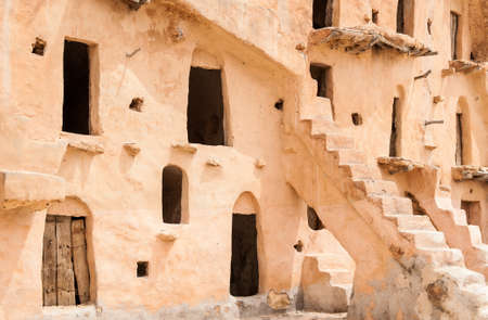 granary: South of Tunisia, Tataouine,the Ksar Ouled Soltane,ancient berber fortified granary