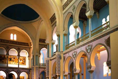 tunisia: Tunisia, Carthage, the St Louis cathedral Editorial