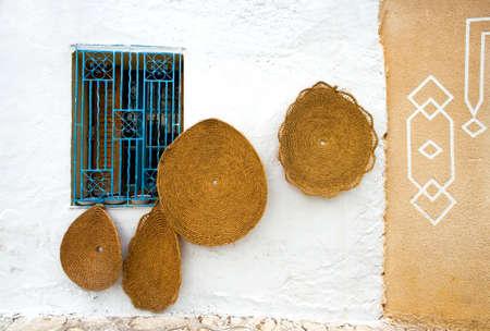 tunisia: Tunisia, simple shops of the Hergla small village Stock Photo