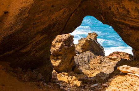 bon: Tunisia, the Cap Bon sea cliffs