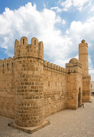fortified: Tunisia, Sousse, the Ribat, a fortified monastery of the IX century