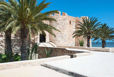 Djerba, Tunisia - April 17, 2008: The Turkish fortress Ghazi Mustapha