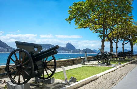rio de janeiro: Brazil, Rio De Janeiro, the guns of the Copacabana Fort