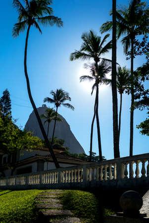pao: Brazil, Rio De Janeiro, the Pao De Acucar Sugarloaf Mountain seen from the Praya Vermella