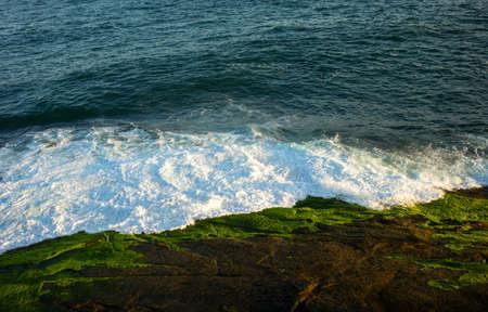 promontory: Brazil, Rio De Janeiro, the sea seen from the Pedra do Arpoador promontory