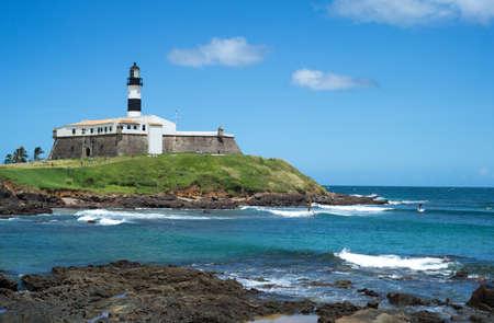 forte: Brazil, Salvador, Barra district, the Forte do Farol lighthouse