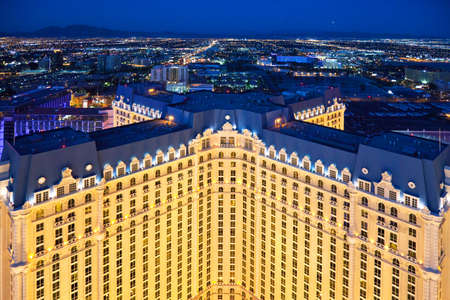 nevada: U.S.A., Nevada, Las Vegas night view of the city