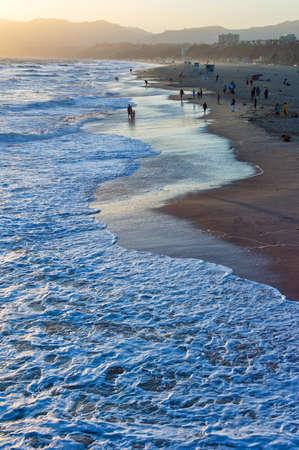 santa monica: U.S.A., California, Los Angeles, the Santa Monica sea front