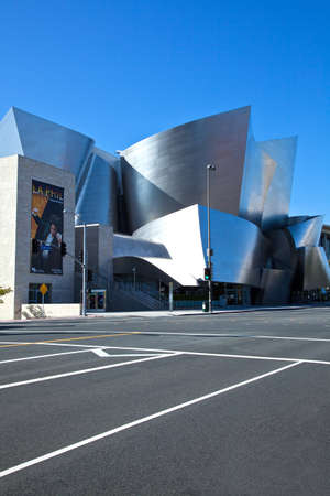 concert hall: Los Angeles,  U.S.A. -  May 31, 2011: Downtown, the Walt Disney Concert Hall Editorial