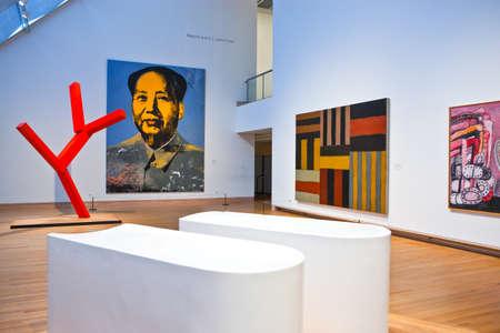 andy warhol: New York, U.S.A. - October 5, 20010:  Manhattan, an Andy Warhol work in the Metropolitan Museum Editorial