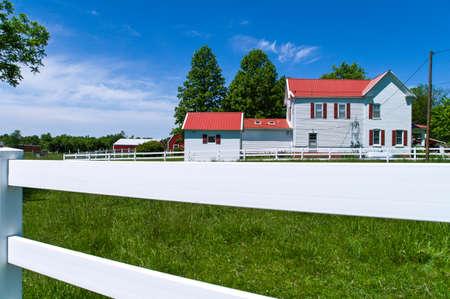 66: U.S.A. Missouri, a farm along the Route 66 near Bourbon