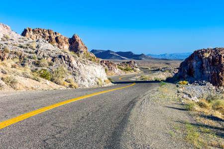 U.S.A. Arizona, the Route 66 towards the California border