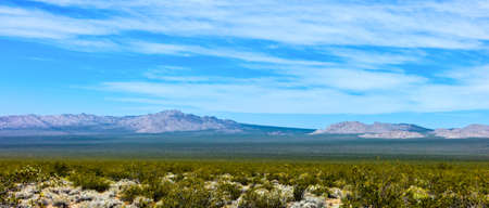 66: U.S.A. California, the Mojave National Reserve near the Route 66 Stock Photo