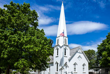 route 66: U.S.A. Illinois, Route 66, Dwight, the Carpenter Gothic church