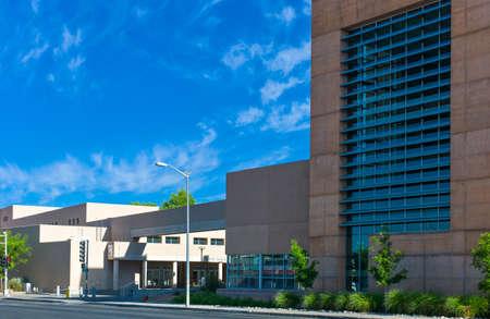 albuquerque: Albuquerque, U.S.A. - May 23, 2011: The University of New Mexixo on the Route 66