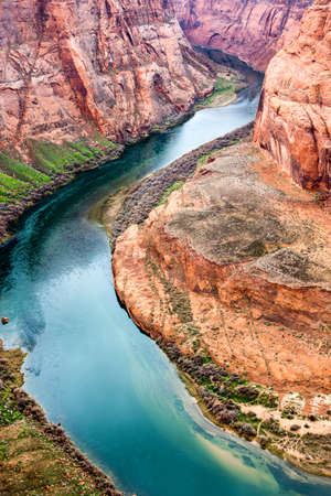 glen: USA, Arizona, Page, Glen Canyon Recreation Area, the Horseshoe Bend