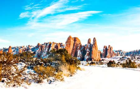 moab: USA, Utah, the Moab Arches National Park