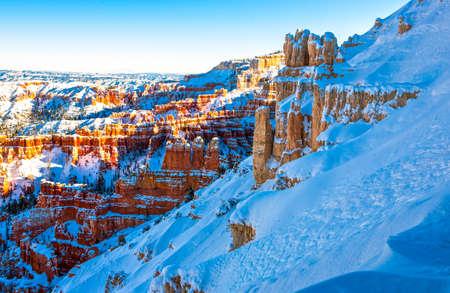 USA, Utah, the Bryce Canyon National Park Stock Photo
