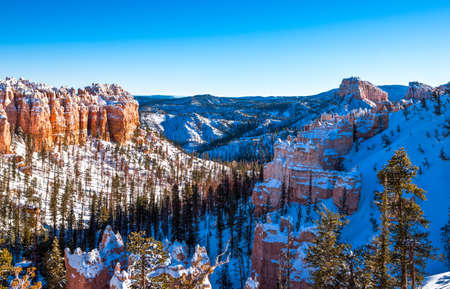 bryce: USA, Utah, the Bryce Canyon National Park Stock Photo