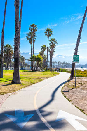 barbara: U.S.A., California, Santa Barbara, the sea front Stock Photo