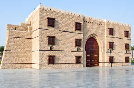 saudi: Jeddah,  a rebuilded Turkish fort called The door of Jeddah in the airport area.
