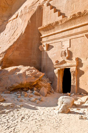 1st century: Madain Saleh, the archaeological site with the Nabatean tomb of the 1st century